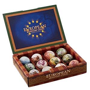 日本未発売 魅惑の欧州通貨デザインボール画像