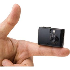 指先サイズの高性能超ミニカメラ
