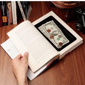 アメリカ製本物洋書のシークレットボックス画像