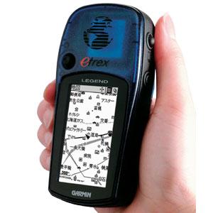 新機能搭載GPSパーソナルナビゲータ画像
