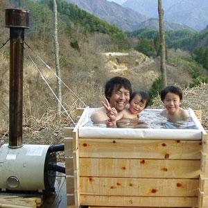 組み立て式ヒノキ風呂キット画像
