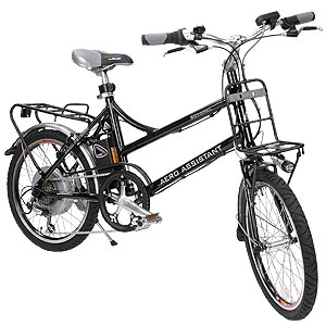 次世代電動自転車「エアロアシスタント」画像
