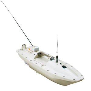 GPS魚探搭載ラジコン釣りボート「かもめ」画像
