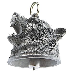 大迫力の熊よけ鈴(消音スポンジ付き)画像