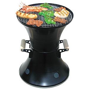 上昇気流でポンッと美味しく焼ける鼓型七輪画像