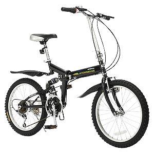 18段ギアリアサスペンション 折りたたみ自転車画像
