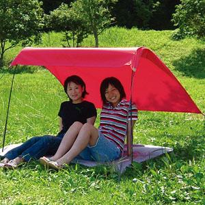 一人で簡単組立 軽量テント「木かげくん」画像