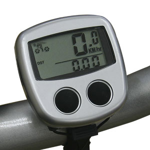 速度&距離表示サイクリングコンピューター画像