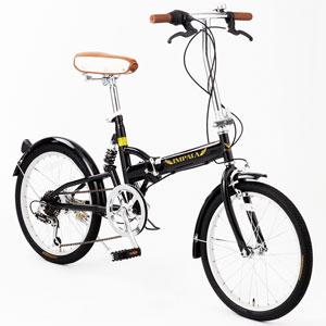 20インチ折畳み シマノ6段変速ギア自転車画像