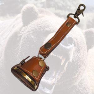 職人手作り 消音機能付き熊よけベル画像