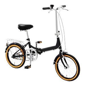 SGマーク取得 16インチ折り畳み自転車画像