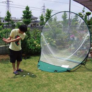 簡単設置!庭のスポーツネット画像