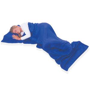 コンパクトシルク寝袋「ドリームザック」画像