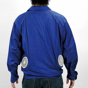 次世代クールビズ「空調服」画像