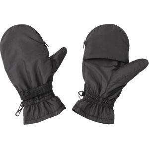 カイロを入れられる 撥水ミトン型手袋