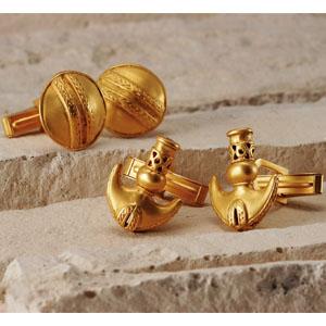 黄金文明レプリカカフス画像