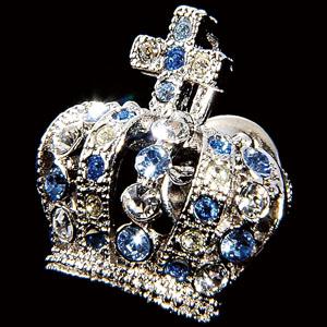 貴族の装飾品 ロイヤルクラウン襟章画像