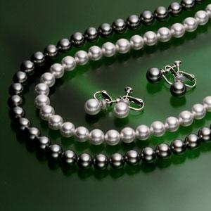 第三の真珠(R)ネックレス・イヤリングセット画像