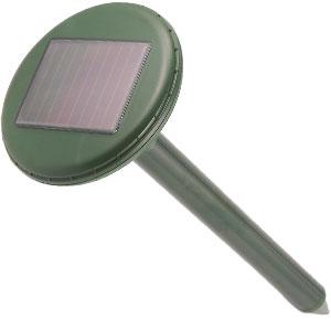 ソーラー式地雷型モグラ・リペラー画像