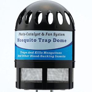 ファン式蚊取器 蚊トラップドーム画像