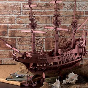 幻の海賊船「ゴールデンハインド自作キット」画像