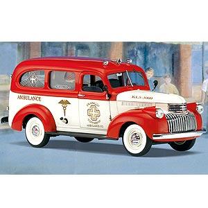1946年型シボレー・サバーバン救急車画像