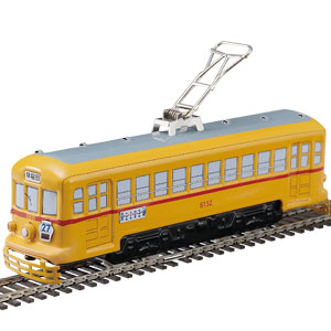 昭和を駆けたブリキの路面電車画像