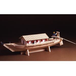 木製模型1/24「こだわり屋形船」画像