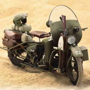 ハーレー1942年型USミリタリーモデル画像