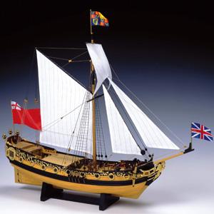 コンパクトスケール チャールズヨット画像