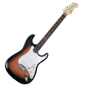 フェンダーUSA社 1/3ミニチュアギター画像
