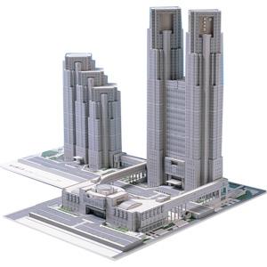 完成時に達成感が味わえるペーパー建築模型