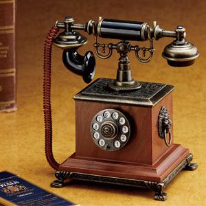 アンティック卓上電話ライター画像