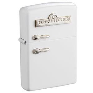 レトロ冷蔵庫型ZIPPO画像