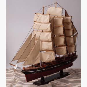ティークリッパー「カティーサーク」の模型画像