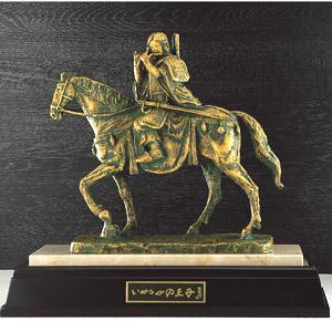 北村西望作品「いかるがの王子」ブロンズ像画像