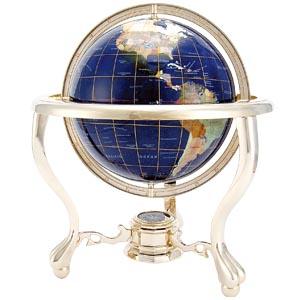 ラピスの海と宝石の国々 男のロマン地球儀画像