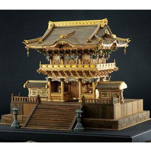 木製建築模型1/40日光東照宮陽明門画像