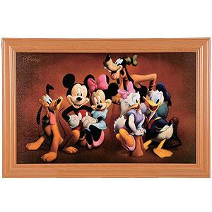 ディズニーワイドアートフレーム画像