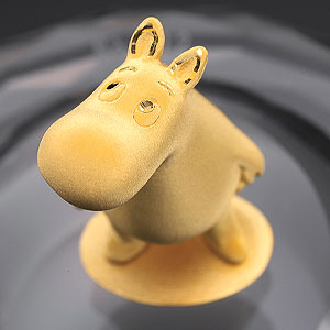 純金エレクトロフォーミング製フィギア画像