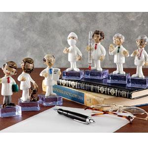 チェコボヘミアガラス製「7人のドクター」画像