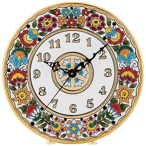 スペイン 24金彩セビリア焼絵皿画像