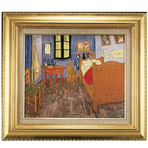 ゴッホ 「アルルのゴッホの寝室」画像