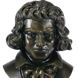 3大音楽家ブロンズ像画像