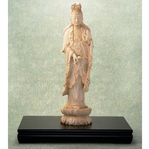 工芸美術品 「大聖観音菩薩立像」画像