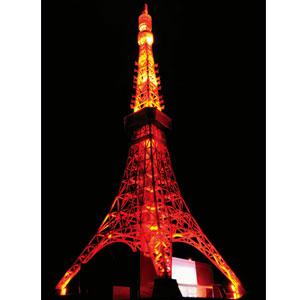開業50周年 1/500東京タワー画像