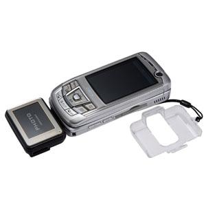 ストラップになる小型携帯リチウム充電器画像