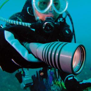 水深200m対応 充電式LED深海ライト画像