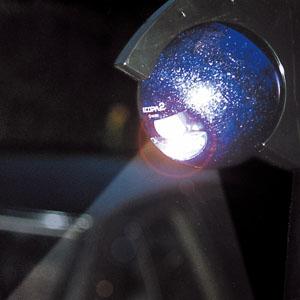 360度回転する センサー付ライト画像