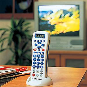 テレビで留守番リモコン画像